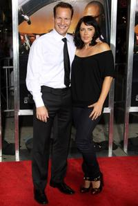 Patrick Wilson and Dagmara Dominczyk at the premiere of