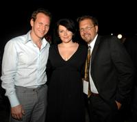 Patrick Wilson, Dagmara Dominczyk and Director Jody Kielbasa at the Reel Experience during the Sarasota Film Festival.
