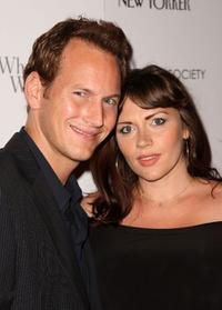 Patrick Wilson and Dagmara Dominczyk at the screening of