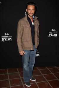 Rodrigo Santoro at the 24th Annual Santa Barbara Film Festival opening night screening of