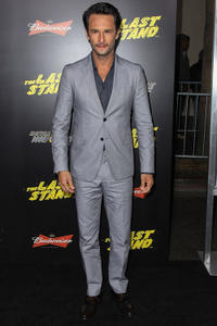Rodrigo Santoro at the California premiere of