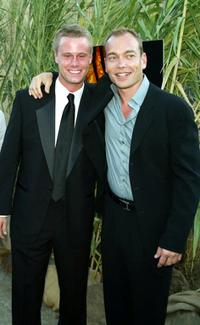 Eric Nenninger and Jonathan Breck at the premiere of