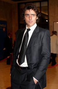 Adriano Giannini at the Italian Film Academy's 50th David di Donatello Awards ceremony.