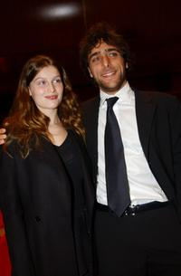 Laetitia Casta and Adriano Giannini at the Italian Premiere of