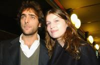 Adriano Giannini and Laetitia Casta at the Italian Photocall of