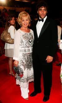 Alberta Ferretti and Adriano Giannini at the premiere of