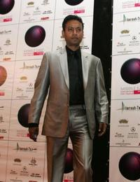 Irfan Khan at the Middle East International Film Festival.
