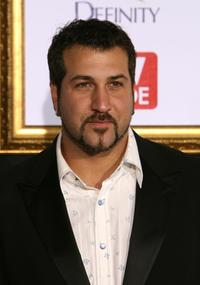 Joey Fatone at the TV Guide's 5th Annual Emmy Party.