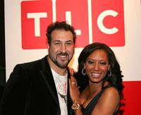 Joey Fatone and Melanie Brown at the Discovery Upfront Presentation New York Talent Images.