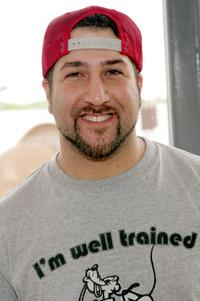 Joey Fatone at the Super Bowl XLI week.