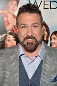 Joey Fatone at the New York premiere of