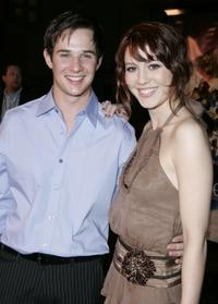 Ryan Merriman and Mary Elizabeth Winstead at the premiere of