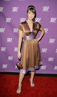 Mary Elizabeth Winstead at the Self Magazine's celebration.