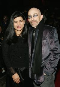 Jackie Earle Haley and his wife Amelia Cruz at the 72nd Annual New York Film Critics Circle Awards Gala.