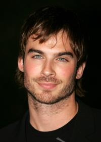 Ian Somerhalder at the ABC's Winter Press Tour Party.