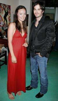 Olivia Wilde and Ian Somerhalder at the Doctors Without Borders