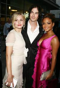 Kristen Bell, Ian Somerhalder and Christina Milian at the premiere of