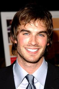 Ian Somerhalder at the premiere of