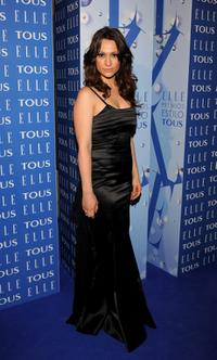 Natalia Verbeke at the 7th ELLE Awards.