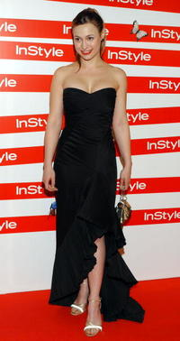 Natalia Verbeke at the In Style Gala Dinner.