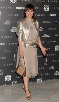 Natalia Verbeke at the 160th Anniversary Loewe dinner.