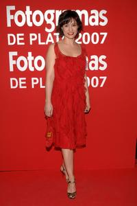 Natalia Verbeke at the Fotogramas Magazine Silver Awards 2007.