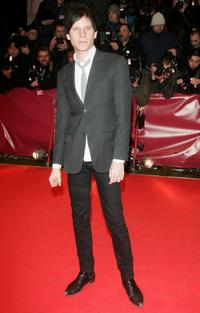 Robert Stadlober at the premiere of