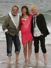 Thomas Fritsch, Jessica Schwarz and Robert Stadlober at the photocall of