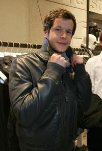 Mirko Lang at the opening of the Strellson flagship store in Germany.