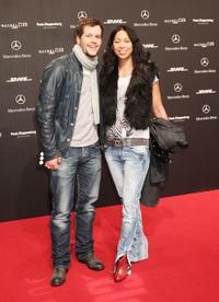 Mirko Lang and Minh-Khai Phan-Thi at the Mercedes-Benz Fashion Week Berlin Autumn/Winter 2010.