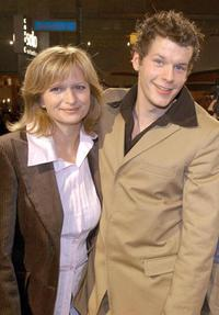 Johanna Gastdorf and Mirko Lang at the premiere of
