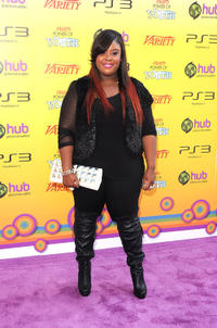 Raven Goodwin at the 5th Annual Power of Youth Event in California.