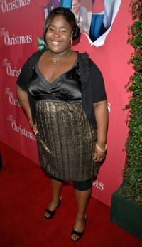 Raven Goodwin at the premiere of