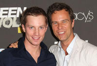 Jonathan Keltz and J.R. Bourne at the California premiere of