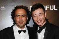 Alejandro Gonzalez Inarritu and Luo Jin at the