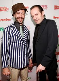 Michael Wiener and Cory McAbee at the red carpet of