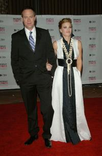 Rob Bogue and Gina Tognoni at the 33rd Annual People's Choice Awards.