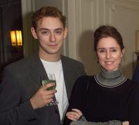JJ Feild and Director Julie Taymor at the screening of