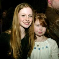 Charlotte Arnold and Haylee Wanstall at the premiere of