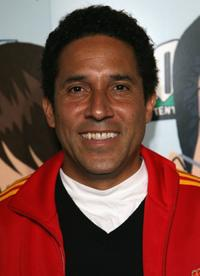 Oscar Nunez at the Comedy Central celebration of South Parks 10th Year.