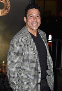 Oscar Nunez at the California premiere of