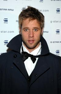 Shaun Sipos at the G-Star Raw Presents NY Raw Fall/Winter 2010 Collection.
