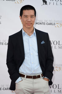 Reggie Lee at the 53rd Monte Carlo TV Festival.