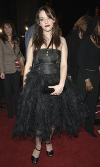 Kat Dennings at the premiere of