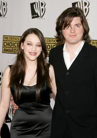 Kat Dennings and Ira David Wood at the 11th Annual Critics Choice Awards.