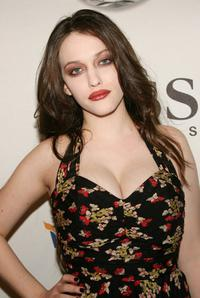 Kat Dennings at the VH1 Save The Music Foundation.
