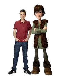 Jay Baruchel voices Hiccup in