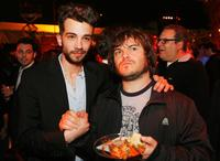 Jay Baruchel and Jack Black at the after party of the premiere of