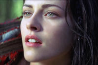 Kristen Stewart as Snow White in ``Snow White and the Huntsman.''