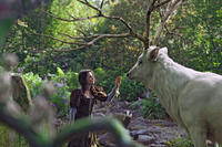 Kristen Stewart as Snow White in ``Snow White & the Huntsman.''